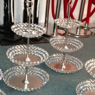 Cup Cake Stand - Cystal