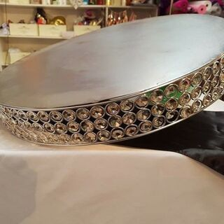 Cake Stand - Crystal Large