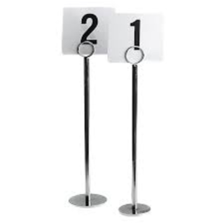 Table Number Stand - Tall