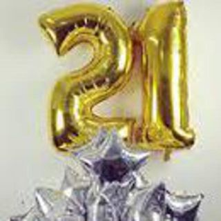 Foil Balloon Numbers 34inch/86cm