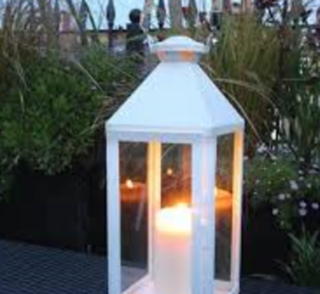 Hurricane Lamp- small