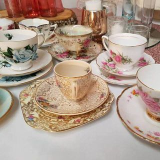Cup and Saucer Vintage Sets