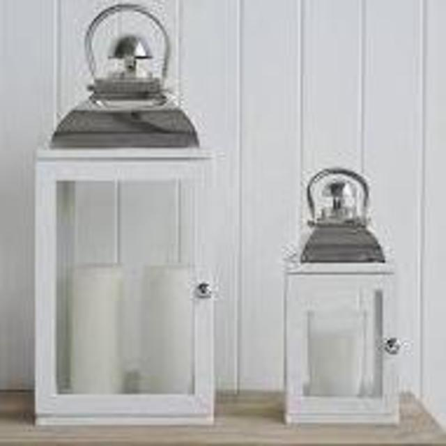 Hurricane Lamp - Large