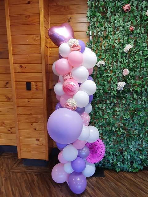 Balloon Pillar - Themed