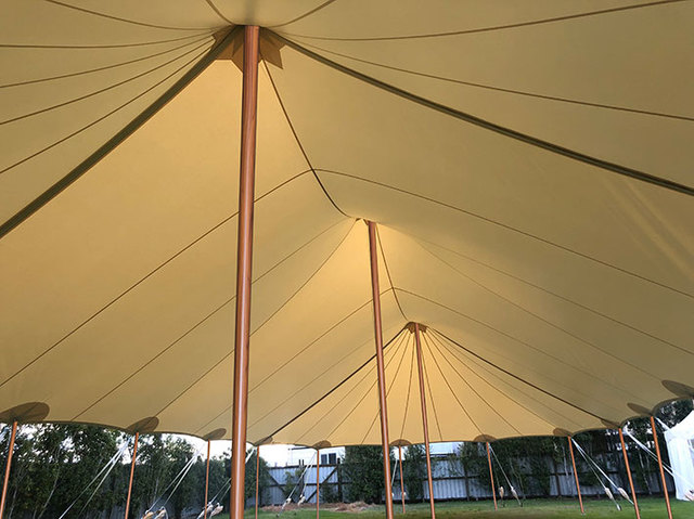 Hampton Peg & Pole Marquee